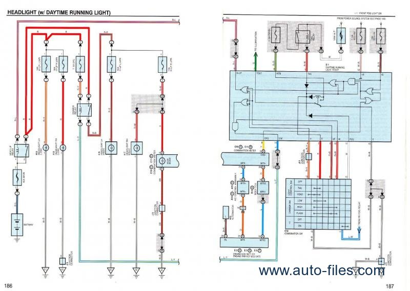 1999 lexus es300 electrical wiring diagram lexus is200, 1999-2002. repair manuals download. wiring ... #9