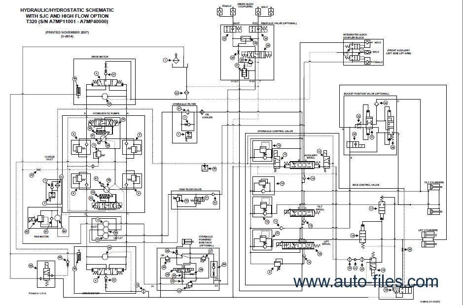 takeuchi tl130 wiring diagram bobcat t300 wiring diagram