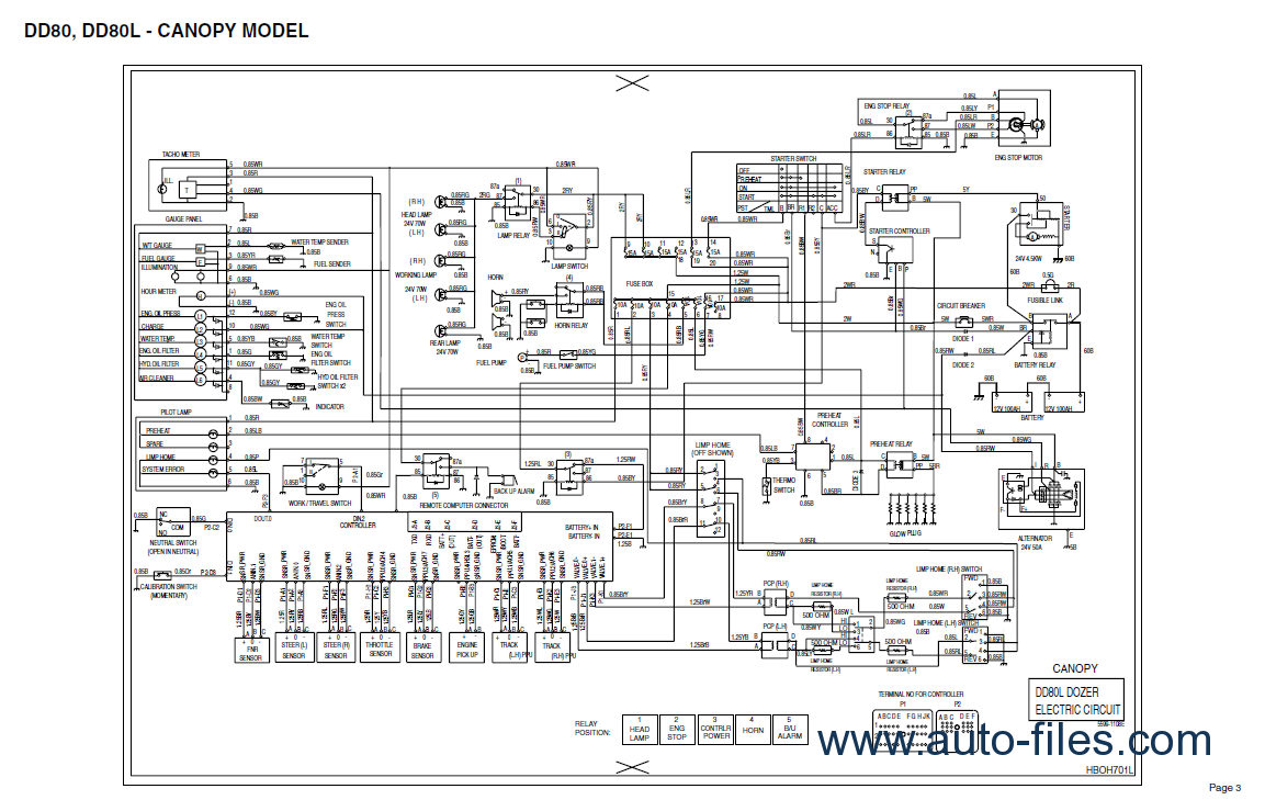 Clark Electric Forklift Wiring Diagram from auto-files.com