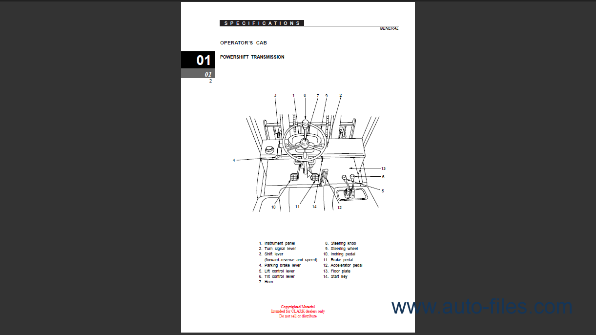clark sf35-45d/l cmp40-50sd/l service manual clark tm247 wiring diagram clark cgp25 wiring diagram