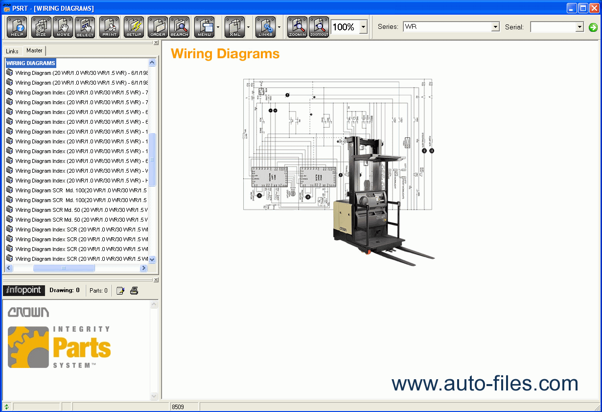 Crown Forklift Wiring Diagram