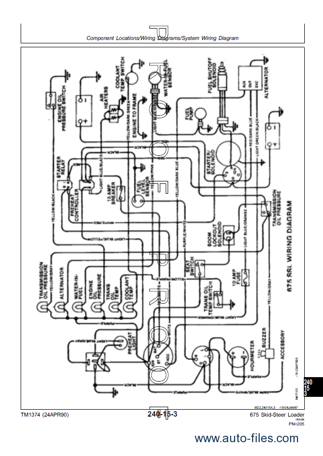 john deere 7775 wiring diagram john automotive wiring diagrams