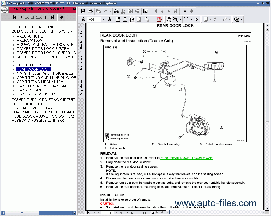 Nissan Cabstar Manual Download