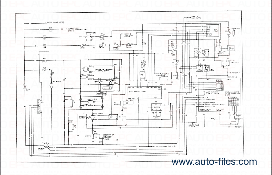 raymond forklift wiring diagram raymond free engine image for user manual