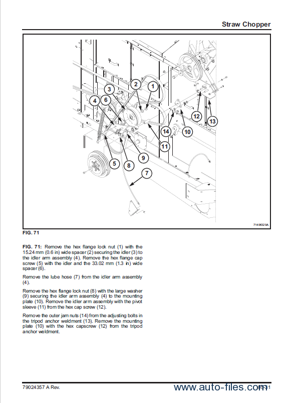 challenger 680b combine service manual pdf