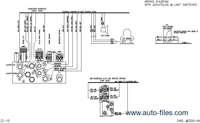 Genie Schematic  U0026 Diagram Manual  Repair Manuals Download  Wiring Diagram  Electronic Parts