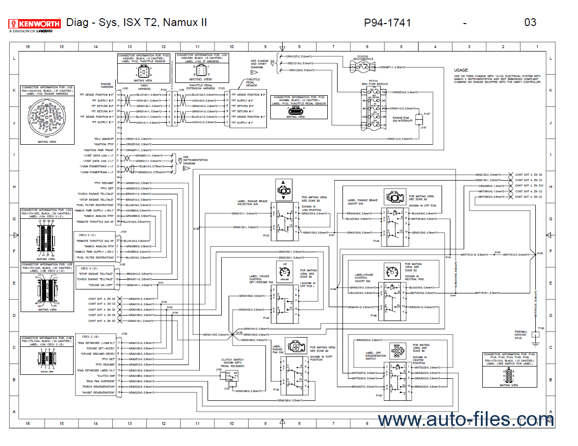 Apads Wiring Diagram Simple Guide About Mack Gu713 Kenworth T2000 Electrical Manual Pdf