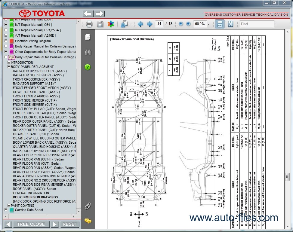 Toyota Corolla  Repair Manuals Download  Wiring Diagram