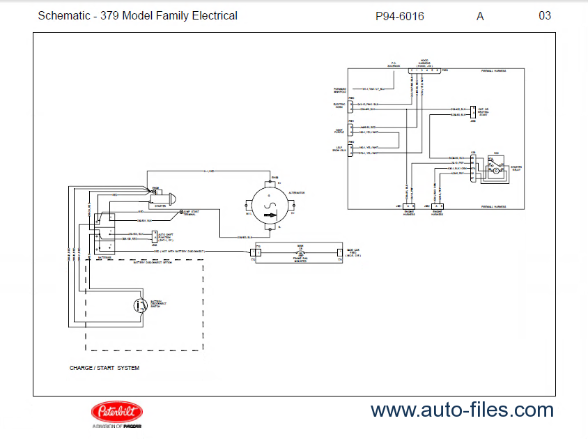 Peterbilt Truck Model Family Electrical Schematic Manual Pdf