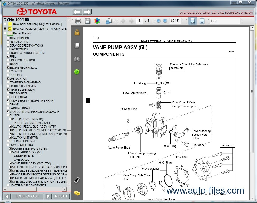 Toyota       Dyna    100150 repair    manuals    download wiring    diagram    Electronic Parts Catalog  epc