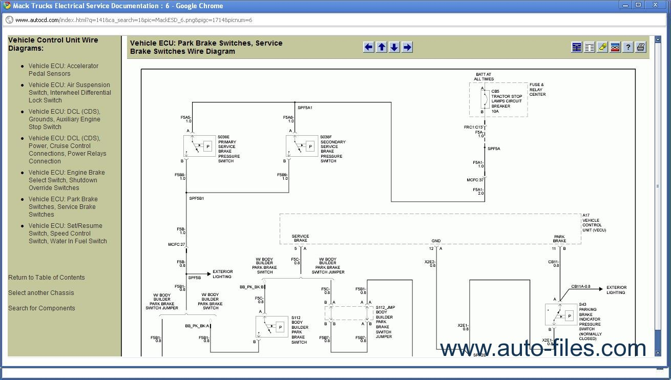 ... mack wiring schematic residential electrical symbols u2022 rh bookmyad  co 2000 Mack Wiring Diagram Mack Trucks