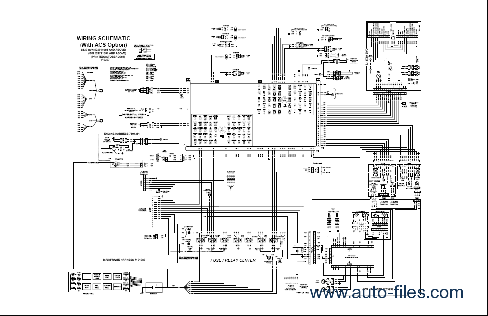 Bobcat S130  Spare Parts Catalog  Repair Manual Download  Wiring Diagram  Electronic Parts