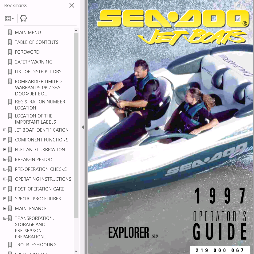 sea doo jet boat challenger 1800 full service repair manual 1997 rh auto files com 1996 seadoo challenger service manual 1996 seadoo challenger repair manual