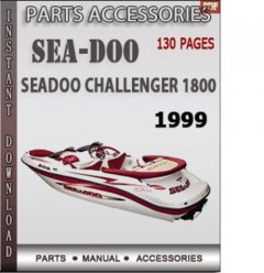 spare parts catalogs Seadoo Challenger 1800 1999 Parts Catalog