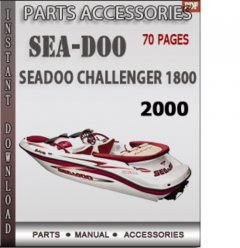 spare parts catalogs Seadoo Challenger 1800 2000 Parts Catalog