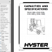 spare parts catalog, repair manual Hyster Challenger H135XL H155XL H165XL H280XL H8.00XL H12.00XL Forklift(F006) Service + Parts Manual - 4
