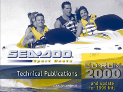 repair manuals Sea Doo Sport Boats Challenger & Speedster & Sportster 2000 Technical Publications