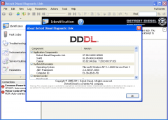 Diagnostic Software Detroit Diesel Diagnostic Link 8.0 (DDDL 8.0)