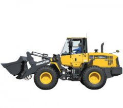 repair manuals KOMATSU WA250PZ-6 WHEEL LOADER MAINTENANCE MANUAL