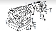 repair manuals ZF 4HP22 6HP26 5HP19 5HP24 5HP30 TRANSMISSION GEARBOX Workshop Manual