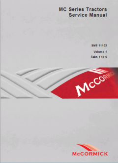 repair manuals McCormick MC Series Tractors Service Manual SM 8-11102 PDF