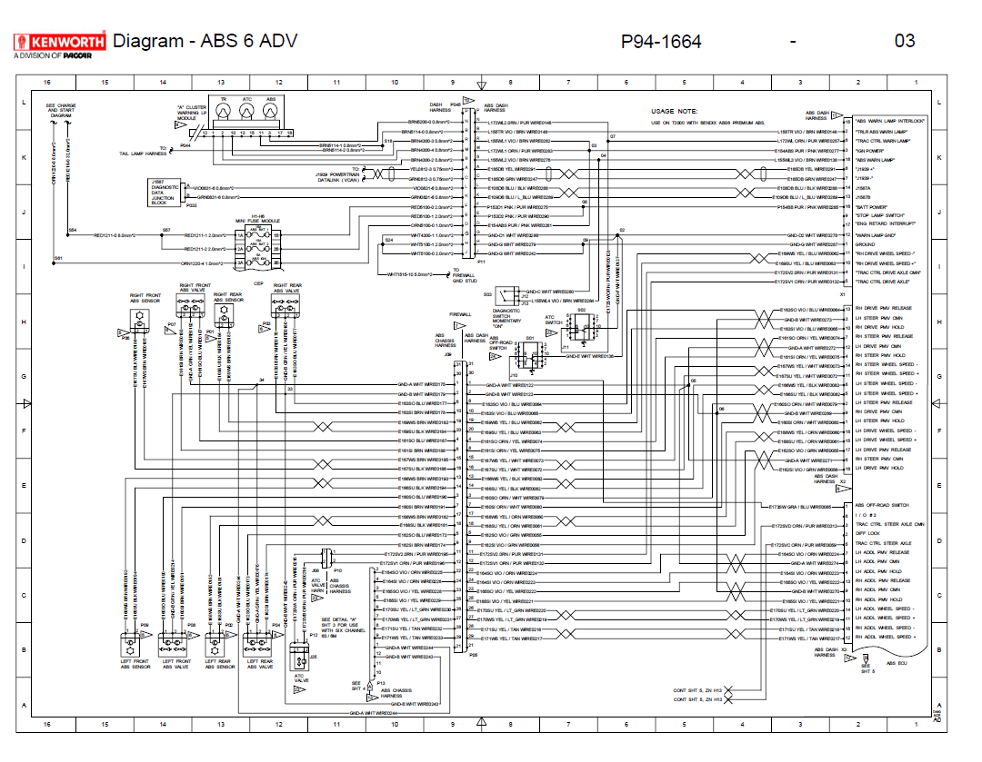 kenworth wiring diagram kenworth wiring diagram am fm radio