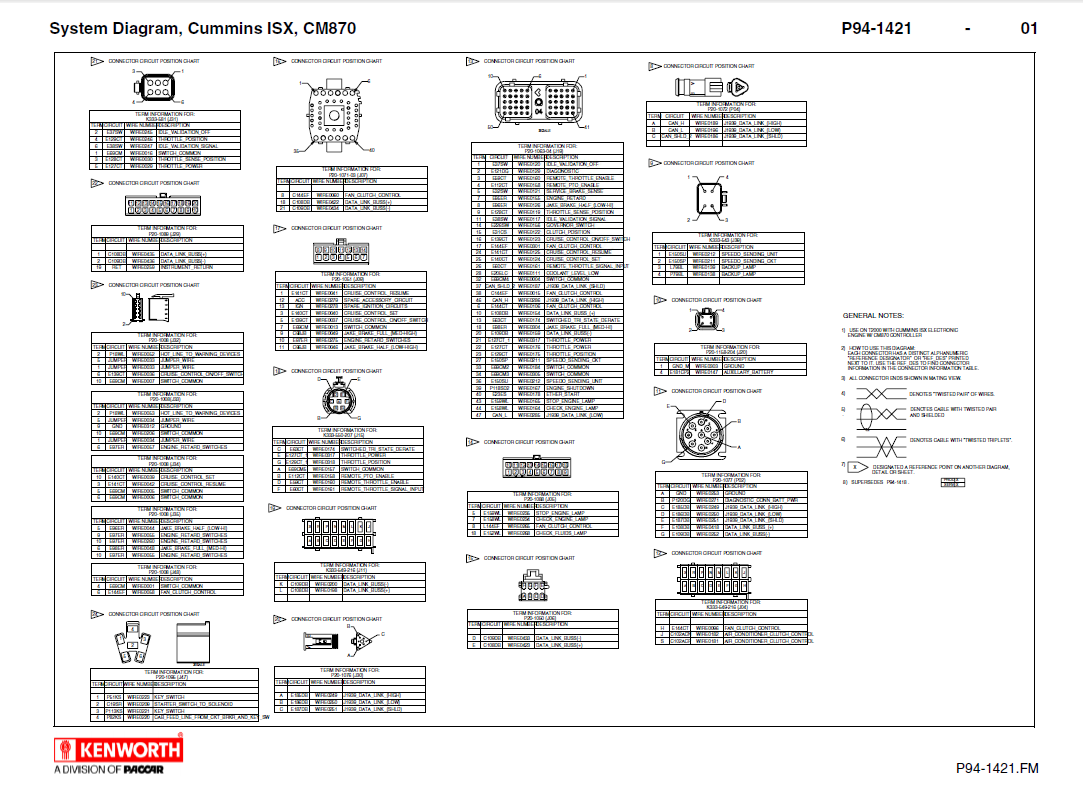 1992 kenworth t600 wiring diagram