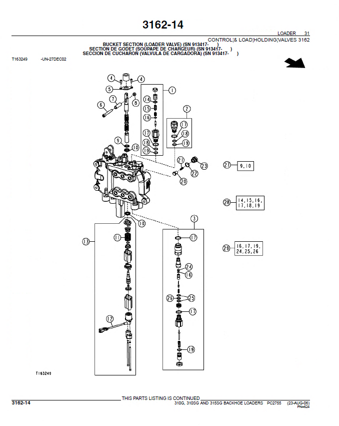 john deere 310g 310sg 315sg backhoe loader parts manual pdf pc2755 john deere 310c backhoe parts diagram the best deer 2017 Caterpillar Backhoe Parts Diagram at virtualis.co