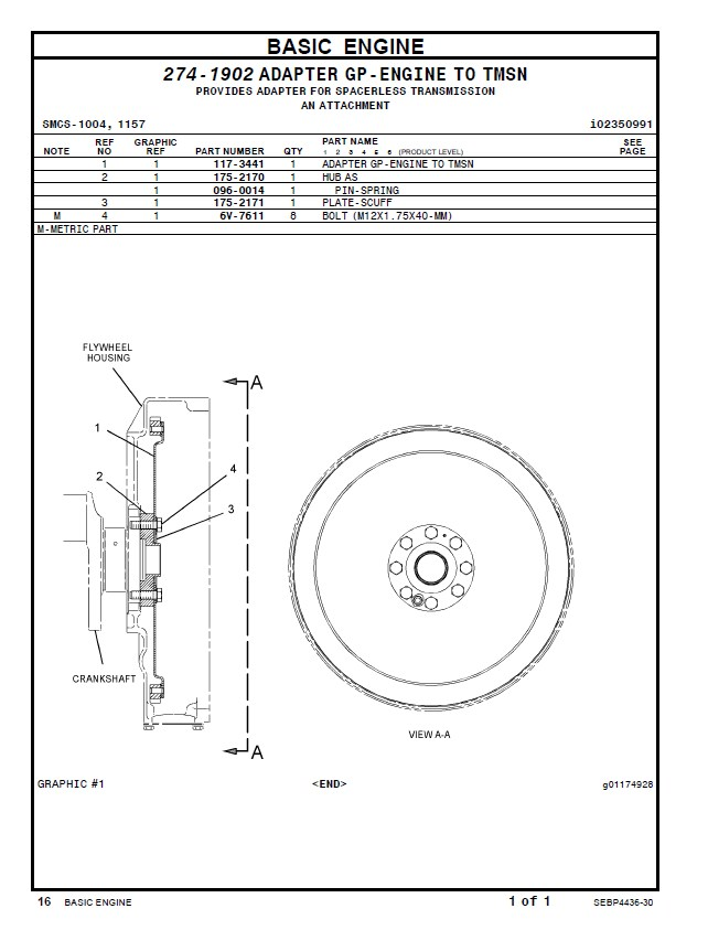 Caterpillar 247 Spare parts Manual