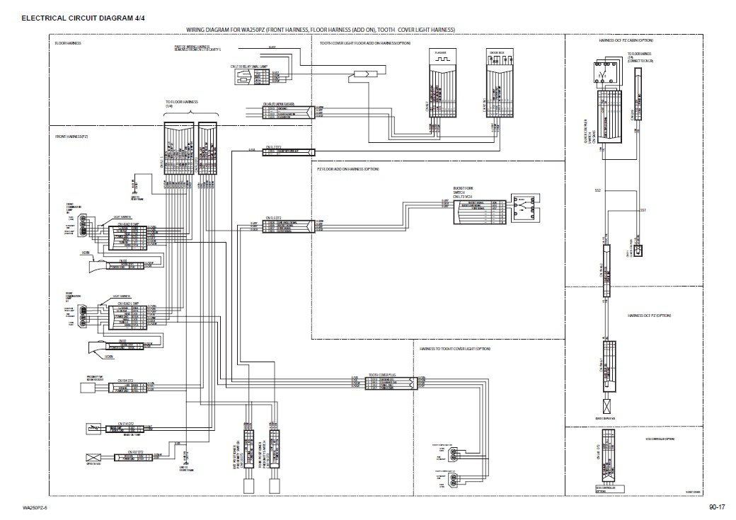 komatsu wa250pz 5 wheel loader service manual workshop repair manual komatsu wa470 6 wiring diagram komatsu wa 50, komatsu wa400  at bayanpartner.co