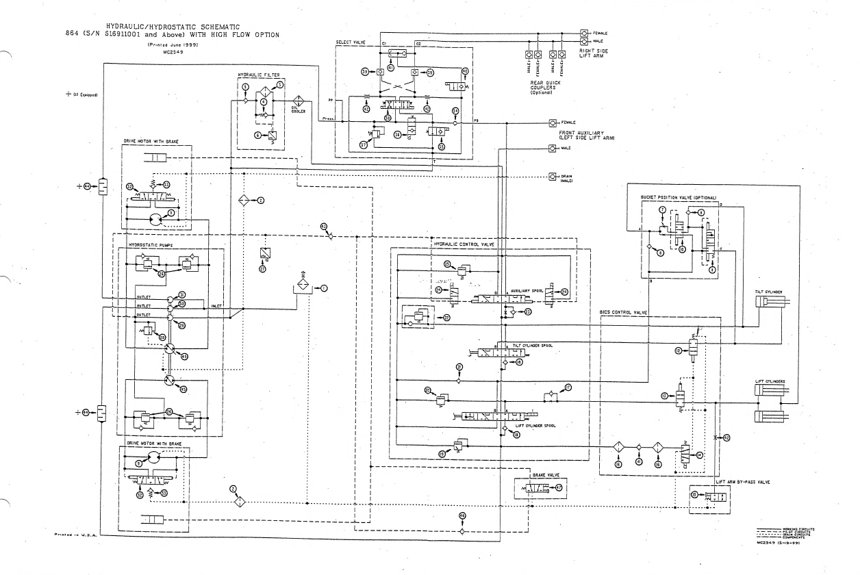bobcat skid steer electrical diagrams wiring library 7-Wire Trailer Wiring Diagram bobcat 864 864 high flow compact track loader service 753 bobcat wiring schematic 753 bobcat wiring