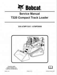 repair manuals Bobcat T320 Compact Track Loader Service Manual PDF