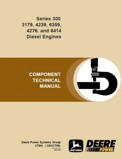 repair manuals John Deere Series 300 3179, 4239, 6359, 4276, 6414 Diesel Engine PDF