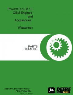 spare parts catalogs John Deere PowerTech 8.1L OEM Engine and Accessories Parts Catalog PC2527 PDF