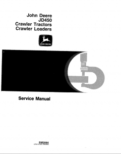 repair manuals John Deere JD450 Crawler Tractor and Loader Service Manual PDF SM-2064