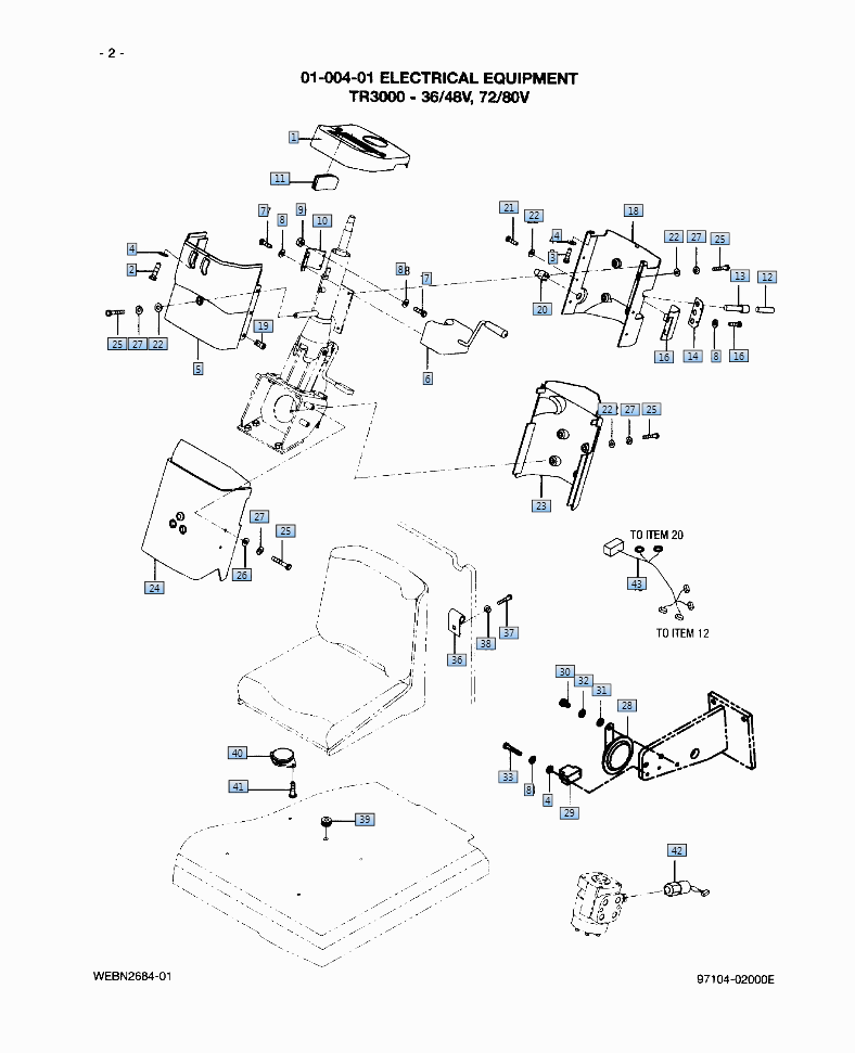moffett forklift parts diagram