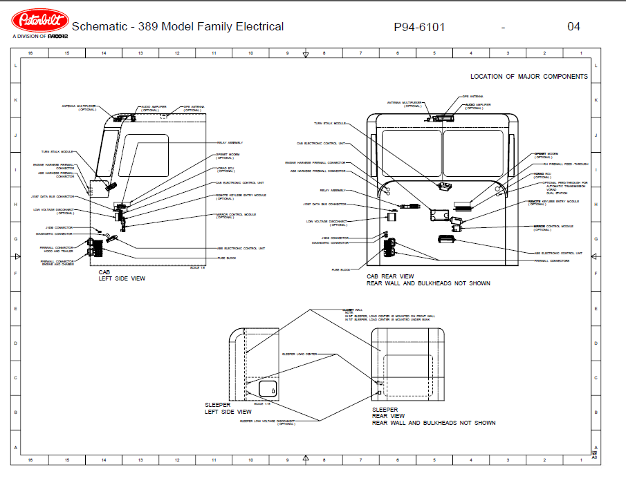 Wiring Schematic Peterbilt Model 389 - Circuit Wiring And Diagram Hub •