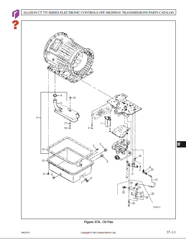 32 Allison Transmission Parts Diagram Manual