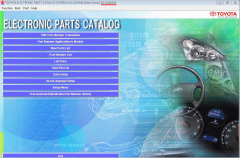 spare parts catalogs Toyota Lexus EPC 2016 All Regions Parts Catalog