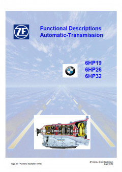 repair manuals ZF 6HP19, 6HP26, 6HP32 Functional Descriptions Automatic-Transmission PDF