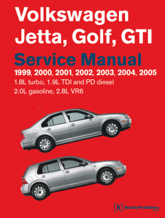 repair manuals Volkswagen Jetta, Golf, GTI Service Manual PDF