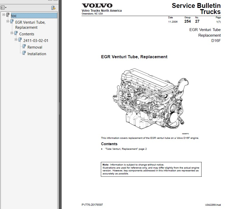Volvo Truck Operator U2019s Manual Maintenance And Engine Pdf
