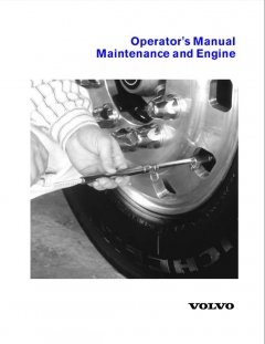 repair manuals Volvo Truck Operator's Manual Maintenance and Engine PDF