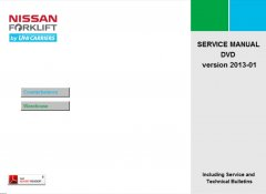 repair manuals Nissan Forklift Service Manuals 2013