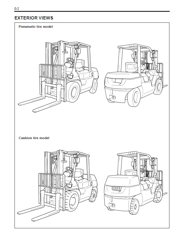 Bt Forklifts Master Service Manual For Toyota In From