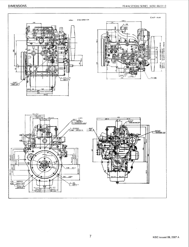 kubota 70mm stroke series diesel engine workshop manual pdf