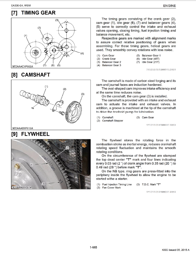 kubota v2003t engine diagram kubota ea330-e4 series diesel engines workshop manual pdf