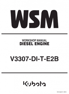 repair manuals Kubota V3307-DI-T-E2B Diesel Engine Workshop Manual PDF