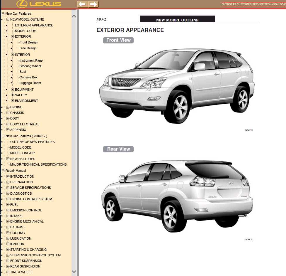 Lexus Rx330 Parts Diagram Manual User Guide That Easy To Read Rx300 Wiring Rx350 Pdf 2000 Amplifier