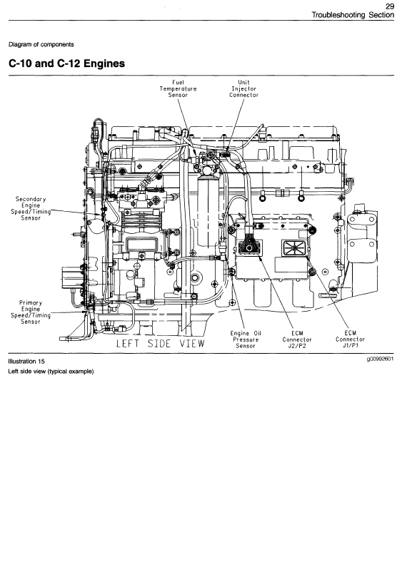 1992 ford f 350 460 engine fuel injector wiring diagram caterpillar 3406e c-10 c-12 c-15 c-16 c-18 on-highway ... caterpillar c15 fuel injector wiring diagram